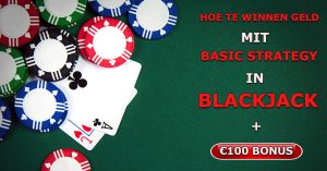 Blackjack casino bonus zonder storting